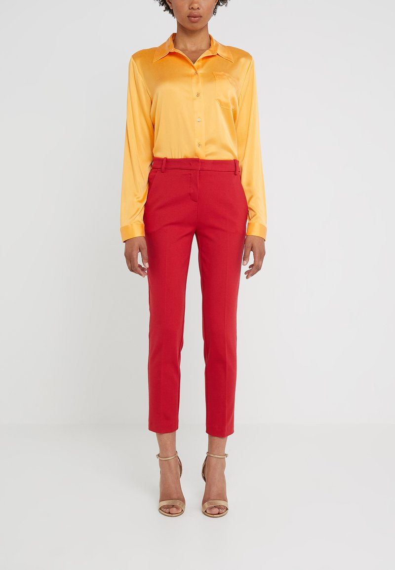 Pinko - BELLO PANTALONE  - Leggings - Trousers - red