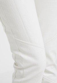 Pinko - GRADINO PANTALONE COCCO LUCIDATO - Stoffhose - white - 4