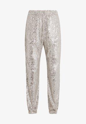 ANNUNCIARE  - Pantalon classique - platino
