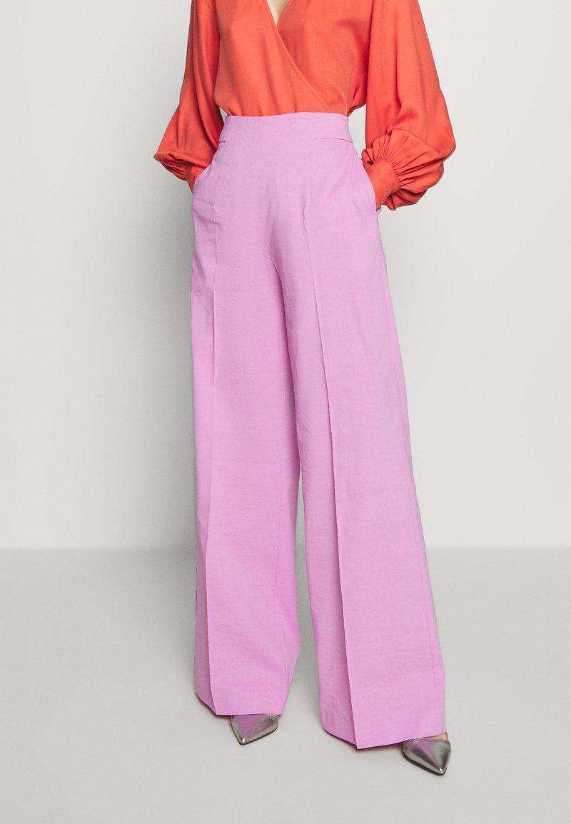 Pinko - LUIGIA PANTALONE TELA DI  - Bukse - pink