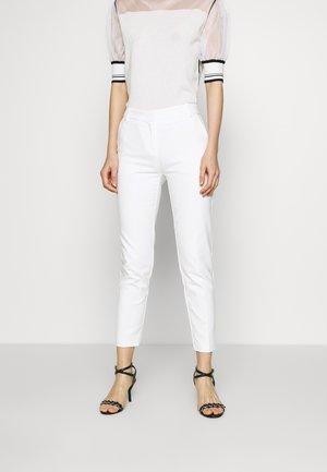 BELLO PANTALONE TECNICO - Trousers - bianco