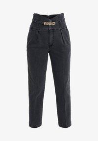Pinko - ARIEL BUSTIER COMFORT - Jeans slim fit - black - 3
