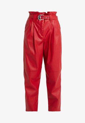 MADERA PANTALONE  - Trousers - red