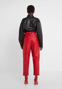 Pinko - MADERA PANTALONE  - Trousers - red - 2