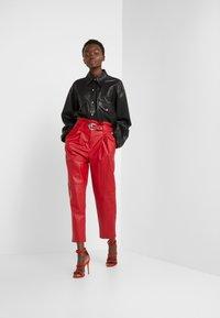Pinko - MADERA PANTALONE  - Trousers - red - 1