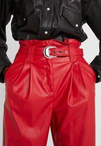 Pinko - MADERA PANTALONE  - Trousers - red - 6