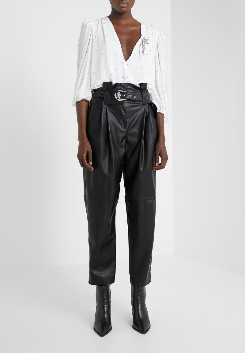 Pinko - MADERA PANTALONE  - Pantaloni - black