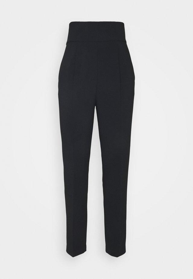 NATALIA TROUSERS - Trousers - black