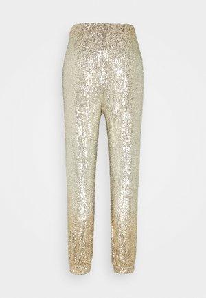 ANNUNZIARE  - Spodnie materiałowe - gold