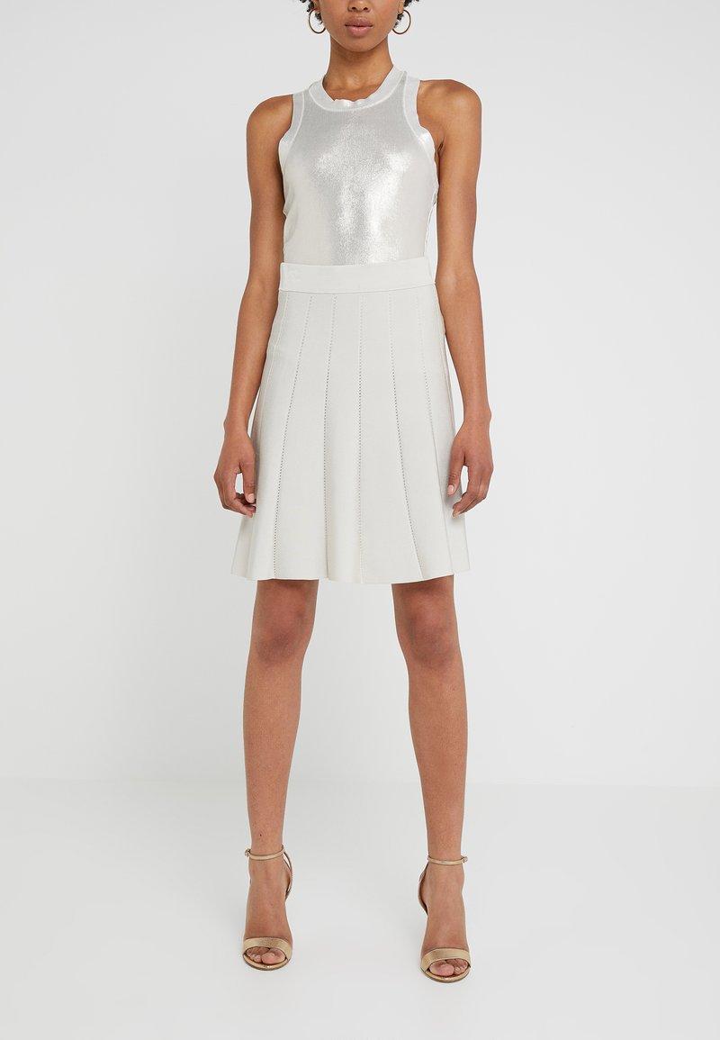 Pinko - TUTTAVIA GONNA - A-snit nederdel/ A-formede nederdele - grey