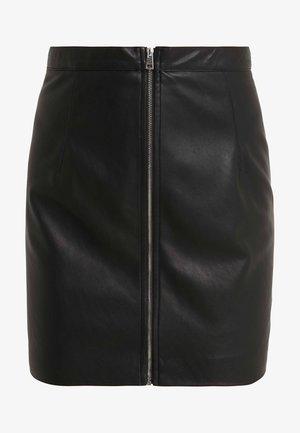 LEVIGARE GONNA SIMIL - Minifalda - black