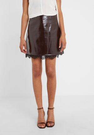 BALSAMO GONNA VERN - Mini skirt - red