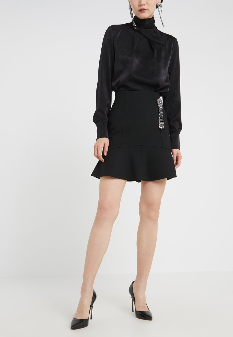 Pinko - SINCERARE GONNA DOUB - A-line skirt - black