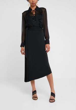 OPERARE GONNA  - A-line skirt - black
