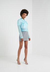 Pinko - PENNELLARE GONNA PUN - Minifalda - multi/bianco/nero/bluette - 1