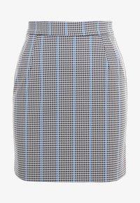 Pinko - PENNELLARE GONNA PUN - Minifalda - multi/bianco/nero/bluette - 4