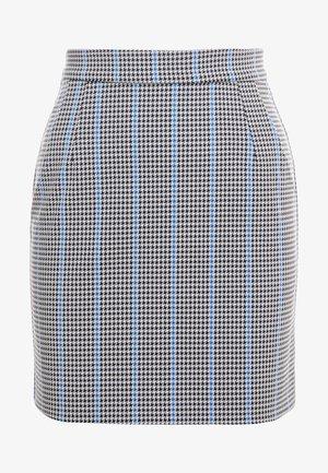 PENNELLARE GONNA PUN - Minifalda - multi/bianco/nero/bluette