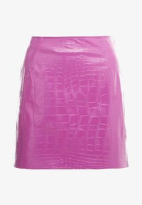 Pinko - OPINION GONNA COCCO LUCIDATO - Minifalda - purple - 4