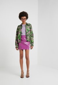 Pinko - OPINION GONNA COCCO LUCIDATO - Minifalda - purple - 1