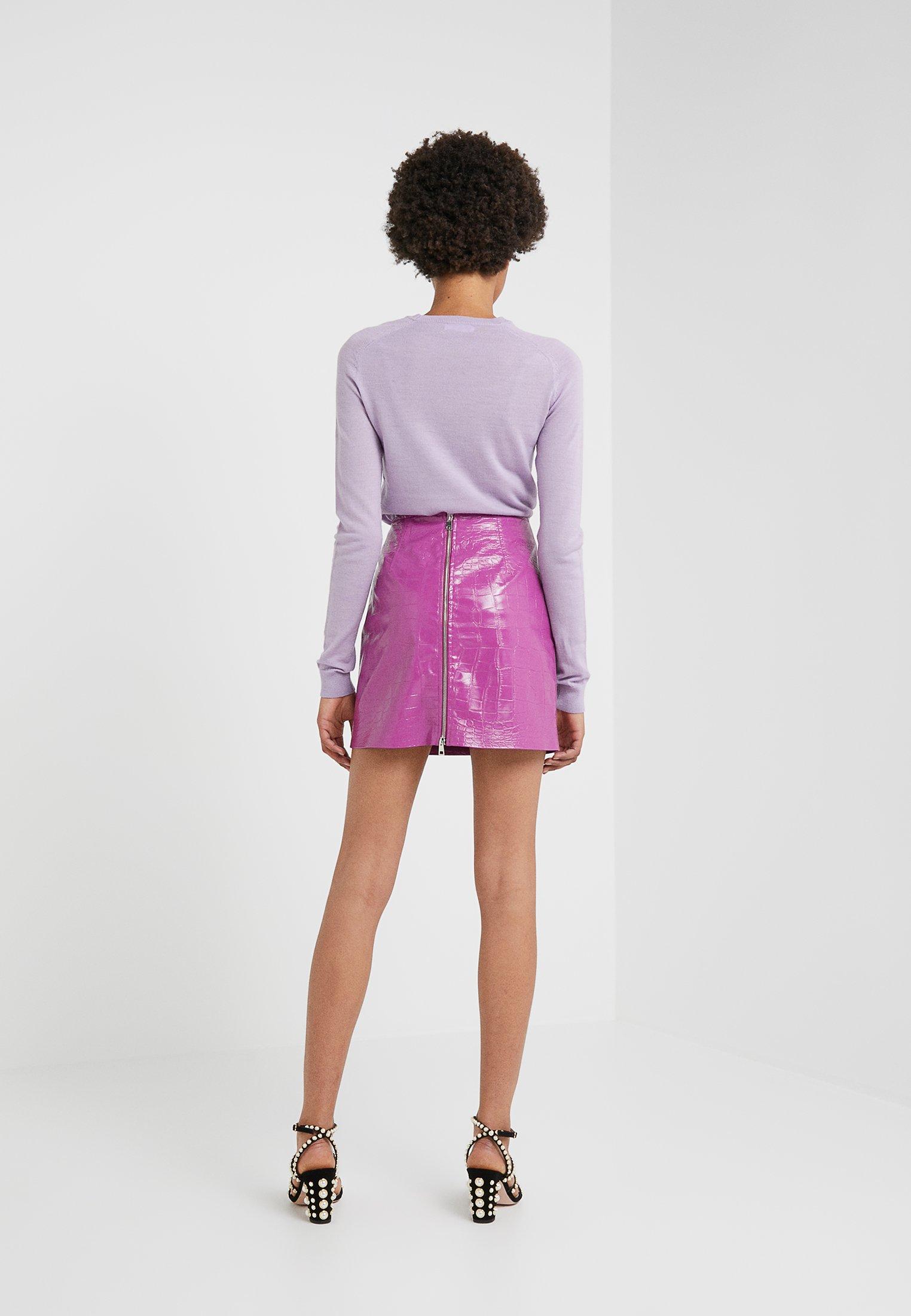 Pinko OPINION GONNA COCCO LUCIDATO - Minigonna purple