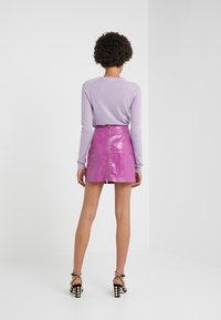 Pinko - OPINION GONNA COCCO LUCIDATO - Minifalda - purple - 2