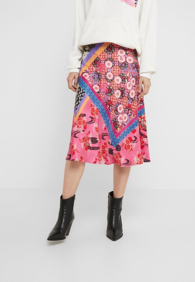 BIBIDI GONNA  - A-line skirt - multi fuchsia azuro