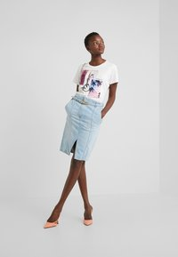 Pinko - MAGGIE GONNA - Falda de tubo - indaco ombra - 1