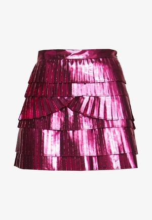 SKIRT - Mini skirt - pink