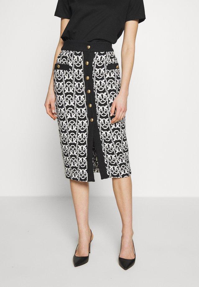 TAMMY GONNA - Pencil skirt - black
