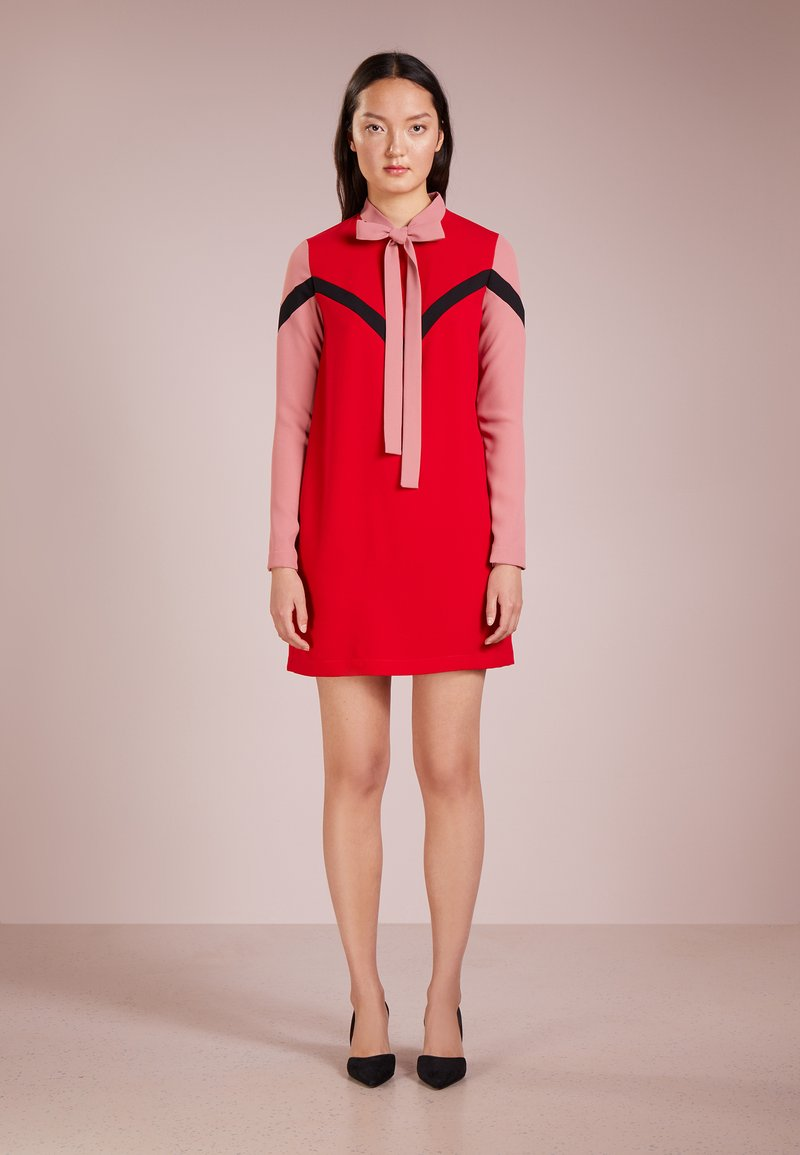 Pinko - IVO ABITO POLY - Day dress - mult.rosso