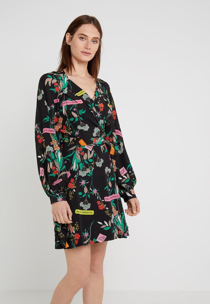 Pinko - CLELIA ABITO FIORELLINO - Day dress - multi/nero/verde
