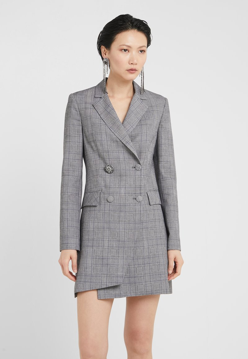 Pinko - TROVARE ROBE MANTEAU - Cocktail dress / Party dress - multi/grigio/blu