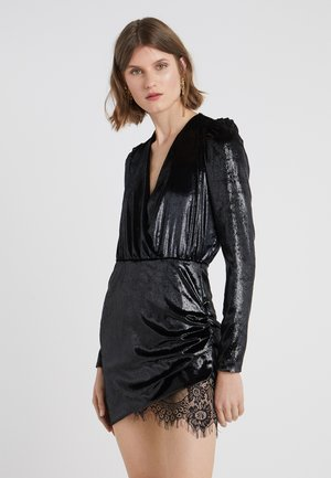 RIVER ABITO BAGNATO - Robe de soirée - black