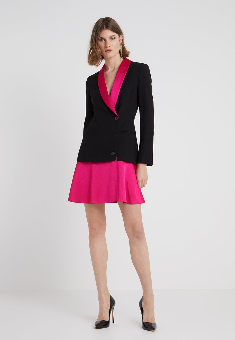 Pinko - PRIMOPIANO ROBE MANTEAU  - Cocktail dress / Party dress - multinero/fuchsia