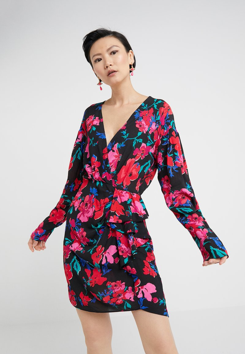 Pinko - DUSTIN ABITO DRESS - Freizeitkleid - red
