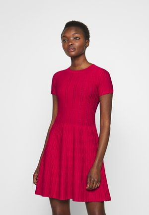 ARDENNE ABITO STRETCH - Jumper dress - rosso persiano