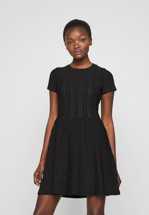 ARDENNE ABITO STRETCH - Jumper dress - nero limousine