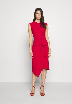 GRAFFE ABITO - Shift dress - red