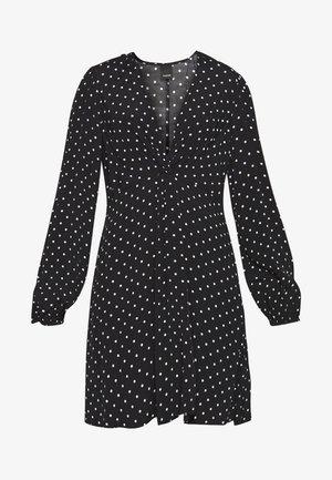 ABITO MAROCAINE STAMP - Vestito estivo - nero/bianco