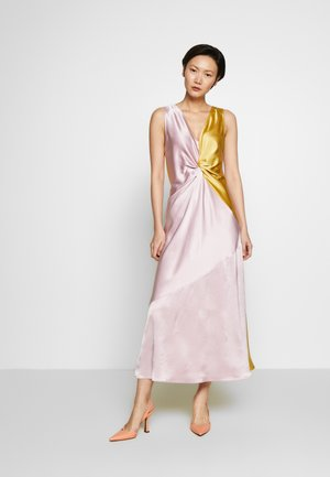 MINESTRA ABITO  - Cocktail dress / Party dress - rosa/giallo