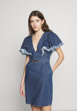 ALLISON - Denim dress - blue indaco ombra