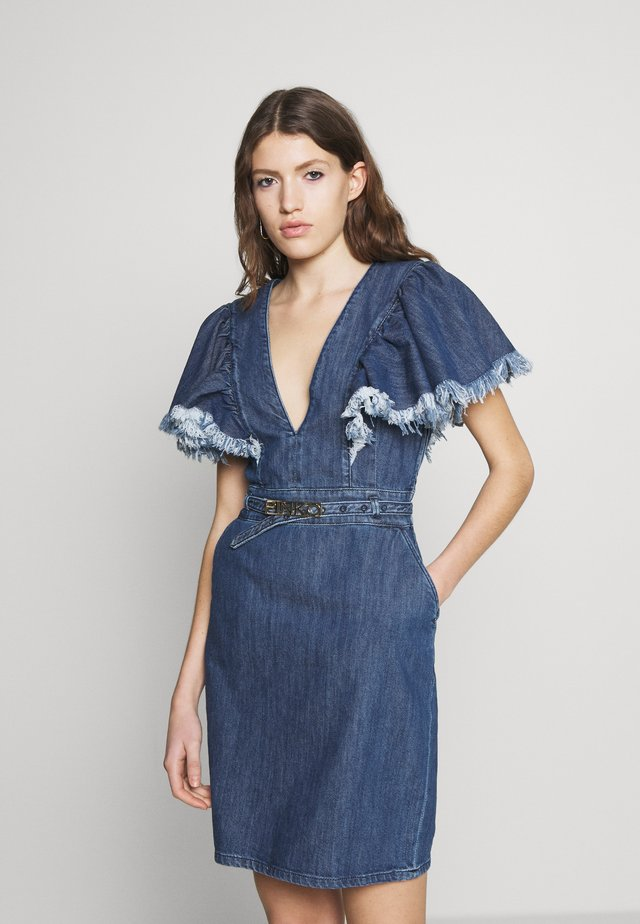 ALLISON - Spijkerjurk - blue indaco ombra