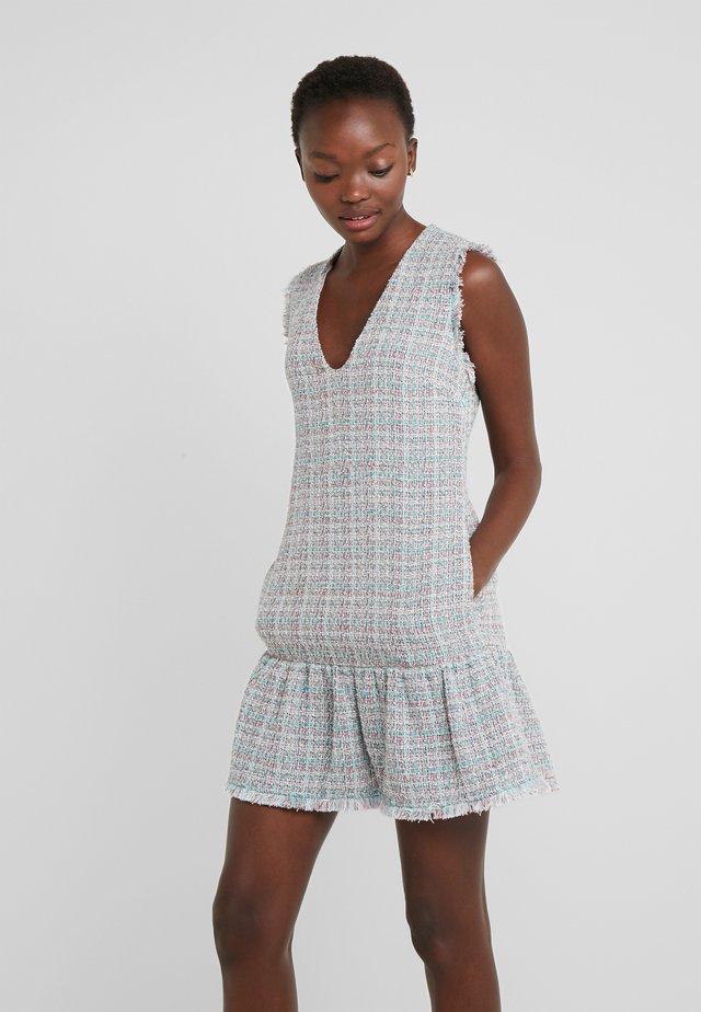 ZABAIONE ABITO TWEED FANTASIA - Korte jurk - rosa