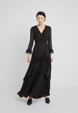 CHEESECAKE ABITO GEORGETTE - Maxi dress - nero/bianco