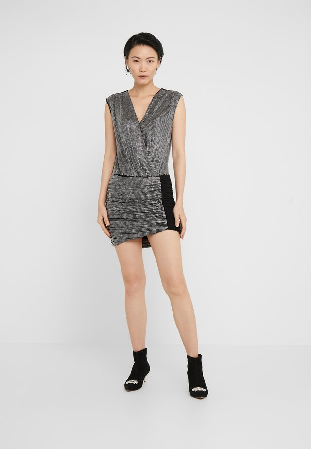 GASTONE ABITO FULL STRASS - Cocktail dress / Party dress - nero crystal