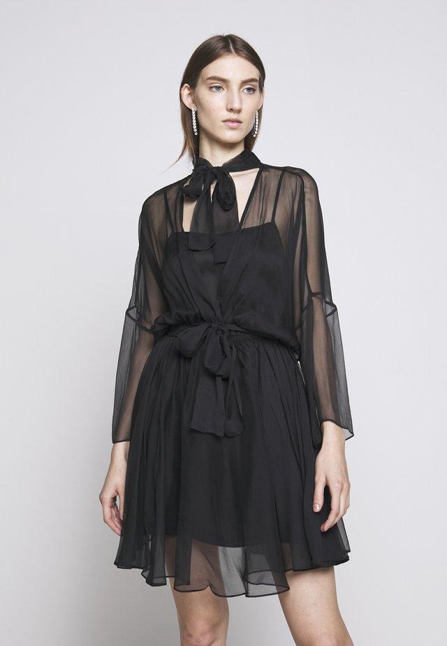 SAETTA ABITO - Vestido de cóctel - black