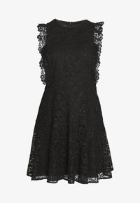 Pinko - TRIGUN ABITO MACRAME MELA - Cocktail dress / Party dress - black - 4