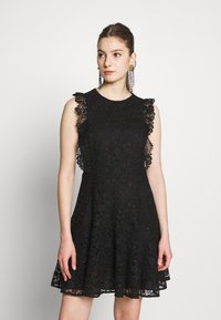 Pinko - TRIGUN ABITO MACRAME MELA - Cocktail dress / Party dress - black - 0