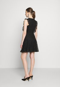 Pinko - TRIGUN ABITO MACRAME MELA - Cocktail dress / Party dress - black - 2