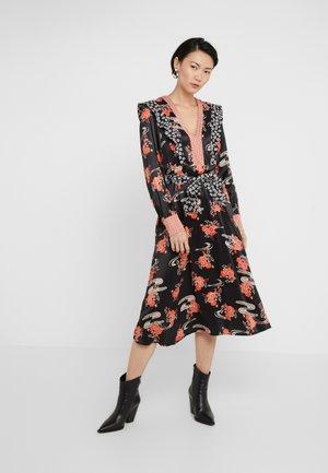 AQUAMAN DRESS FIORE GIAPPO - Cocktail dress / Party dress - nero/bianco/rosso